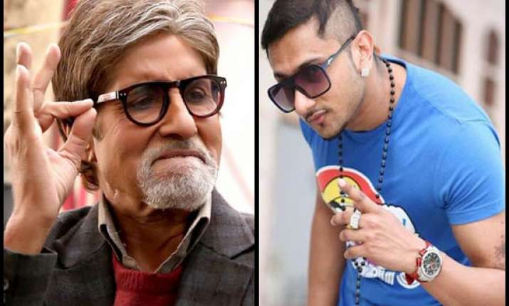 amitabh bachahn honey singh to come together for bhootnath