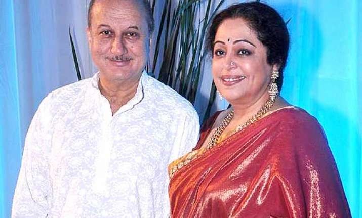 anupam kher lends support to wife kirron wishes best for