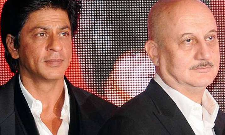 anupam kher to shoot with srk for his tv show