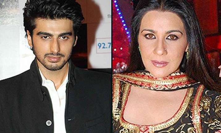 arjun kapoor speaks about saif ali khan s first wife