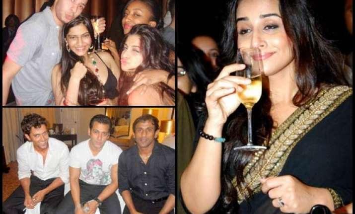 see salman shah rukh vidya sonam drinking smoking rare pics