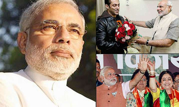 2014 elections narendra modi wins know how bollywood