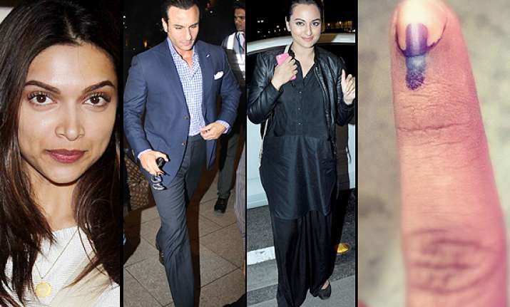 bollywood leaves for iifa 2014 avoids voting in mumbai see