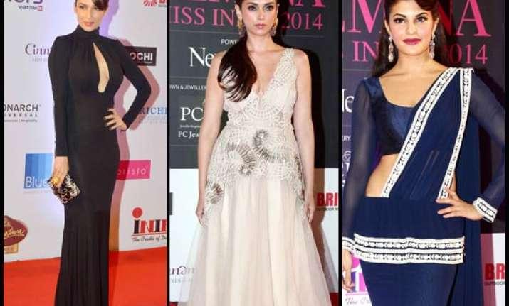 femina miss india 2014 hot babes jacqueline malaika aditi
