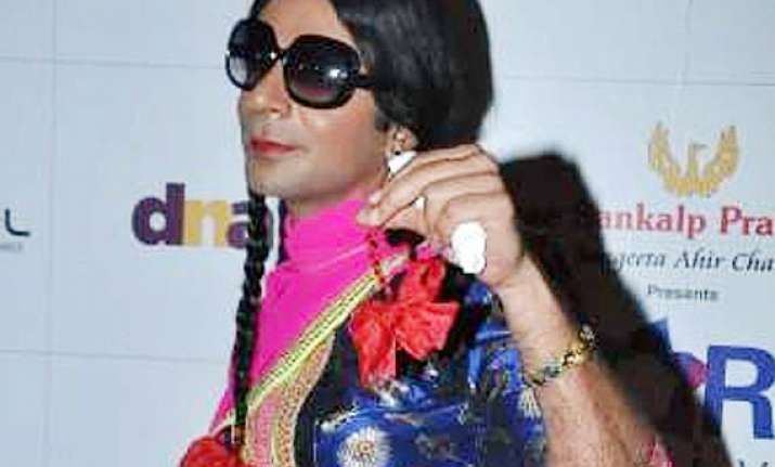 sunil grover aka chutki to do ramp walk in mad in india