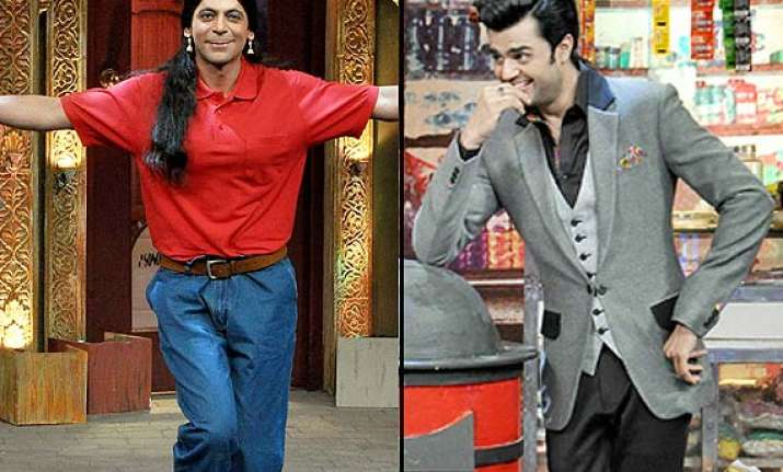 manish paul quits mad in india gutthi returns in comedy