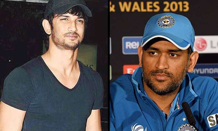 sushant singh rajput to play m.s. dhoni on screen soon