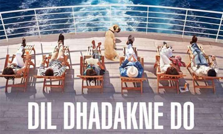dil dhadakne do teaser poster out guess who s who in the