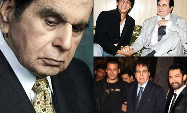 dilip kumar s biography launch bollywood khans to attend