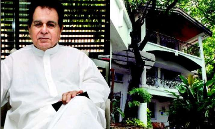 Court lifts stay order on Dilip Kumar's house