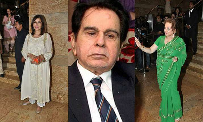 cinema icons get together to launch dilip kumar s