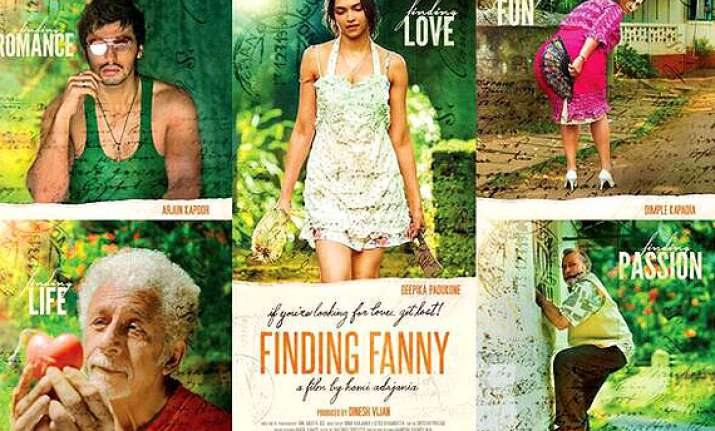 poster out finding fanny to be an absurdly entertaining