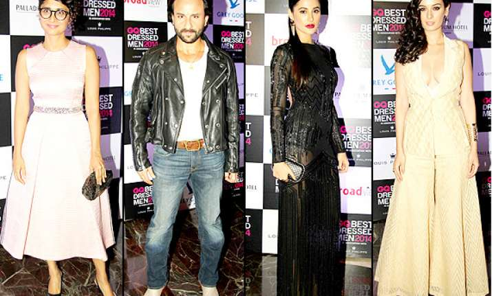 gq india best dressed men party hot nargis evelyn saif