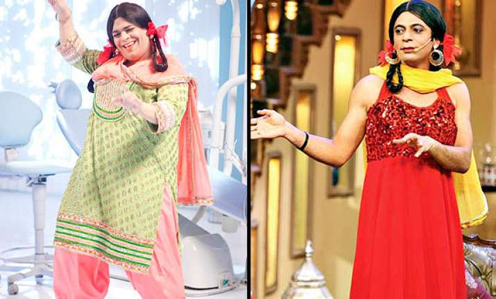 comedy nights with kapil gutthi to enter palak to quit the