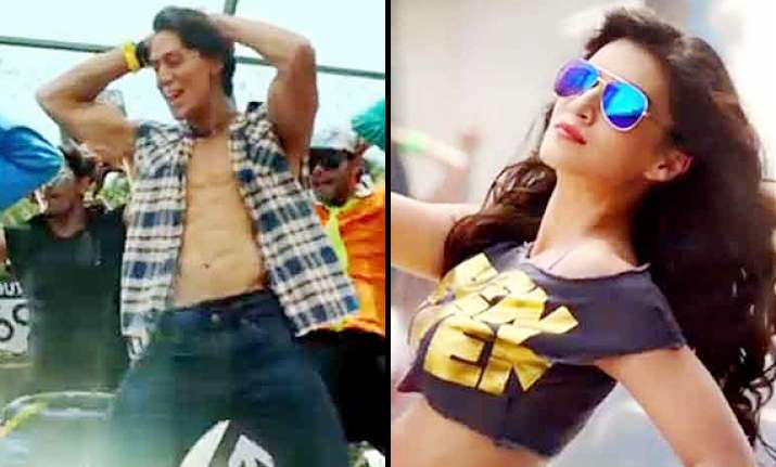 heropanti pappi song review is tiger shroff trying too hard