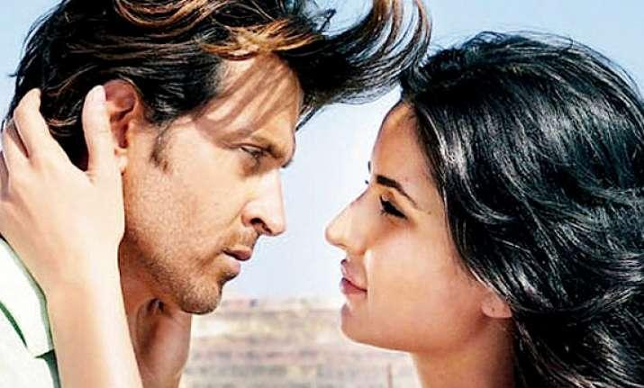 is love sparking between hrithik and katrina with bang bang