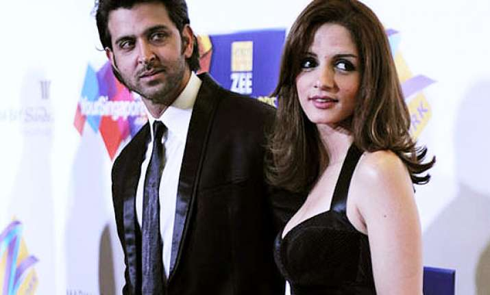 hrithik sussanne divorce the actor shows aggression over