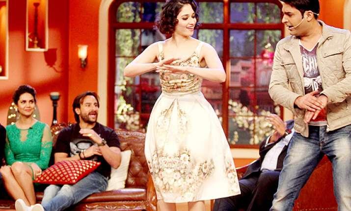 riteish saif sajid turn comedy nights with kapil into a mad