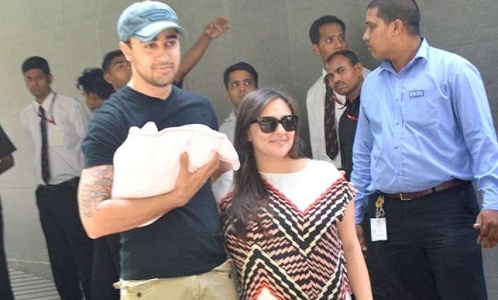 imran khan and wife avantika name daughter as imara malik