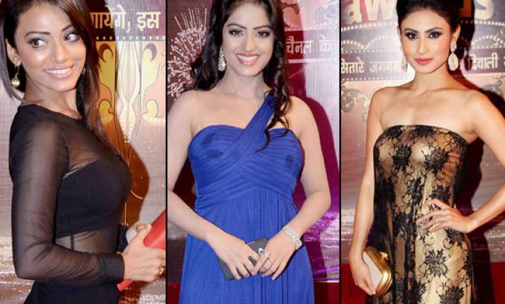telly babes at ita awards 2013