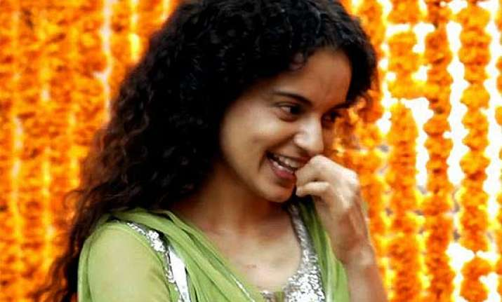 kangana ranaut all praise for her queen character says she