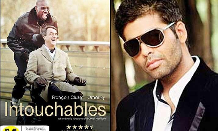 karan johar to produce hindi remake of the intouchables