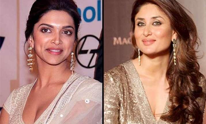 kareena deepika s war gets intense bhansali chooses deepika
