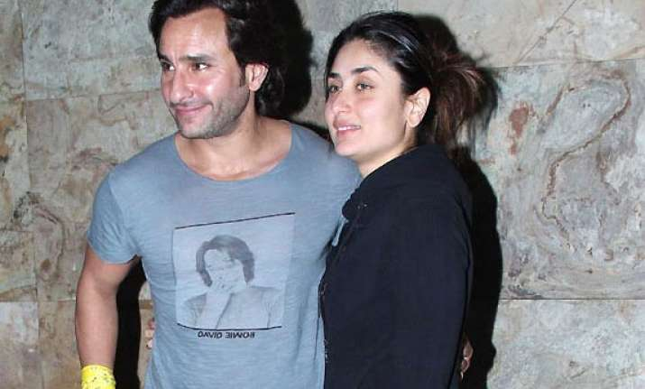 kareena kapoor on saif ali khan working together not our