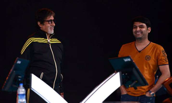 kbc 8 comedy king kapil sharma honoured to be the 1st guest