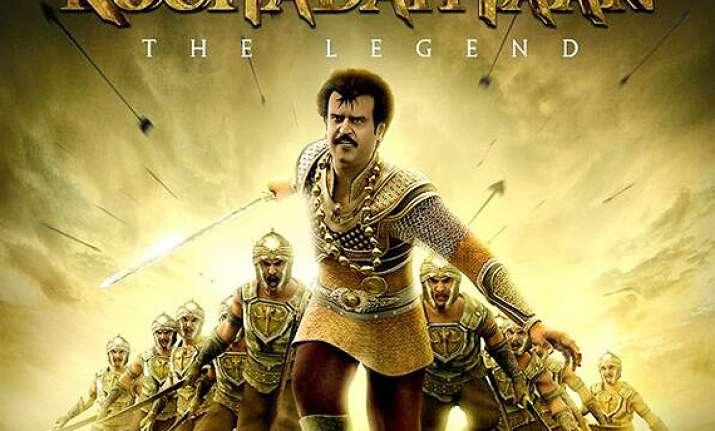 kochadaiiyaan box office collection trails at andhra