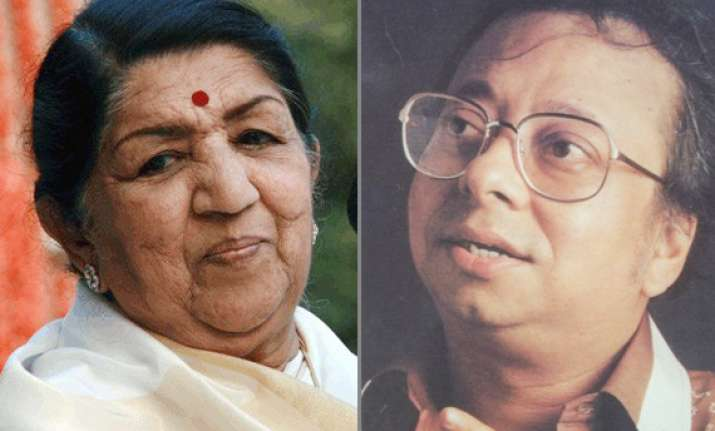 lata mangeshkar claims that r.d. burman was too young and