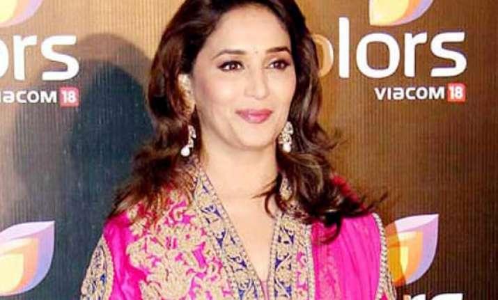 madhuri dixit reveals she never struggled to get films