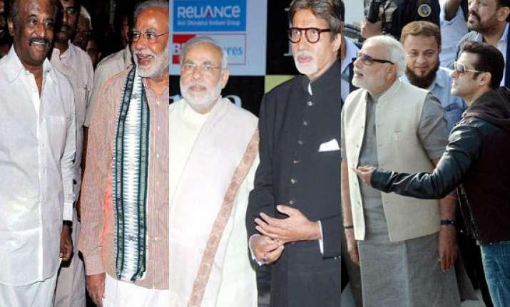 rajinikanth big b salman khan invited to attend narendra