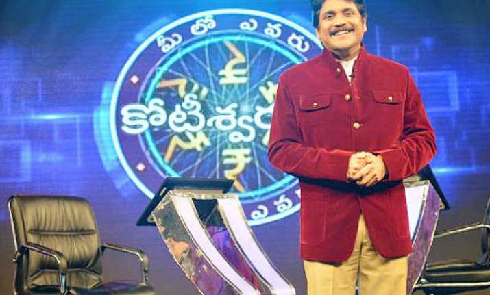 nagarjuna s television debut stirs up a storm