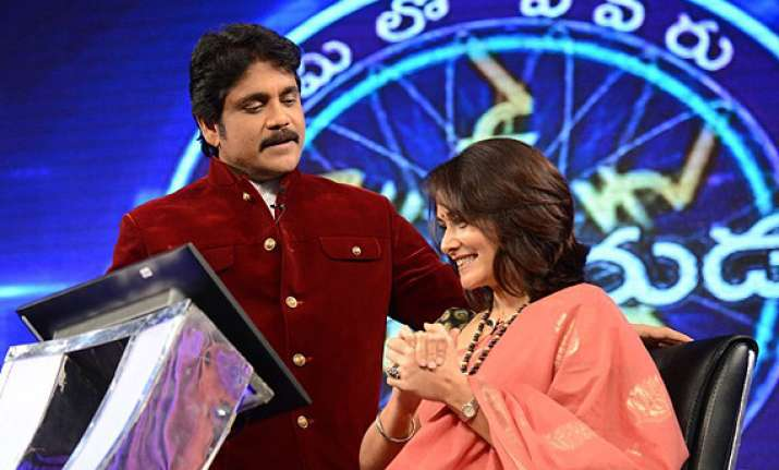 nagarjuna s tv show on top for fourth week in a row