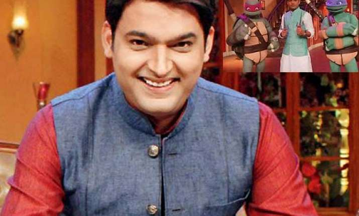 comedy nights with kapil host kapil and family welcomes