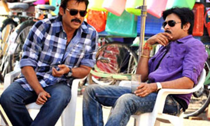 excited to be sharing screen space with pawan venkatesh