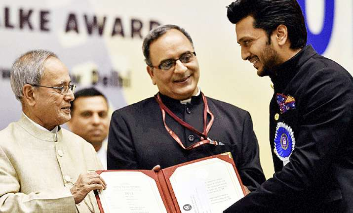 national film awards 2014 president pranab mukherjee