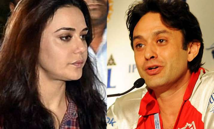 things did turn ugly between preity and ness that night