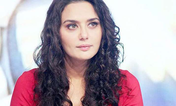 preity zinta set to make a comeback as rustic bandit