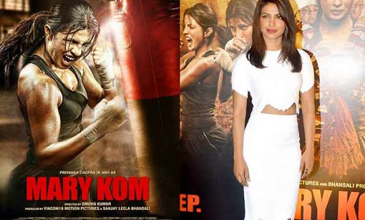 after mary kom priyanka had to lose weight for girly role