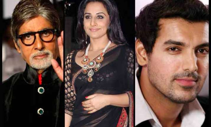 amitabh bachchan john abraham vidya balan most educated