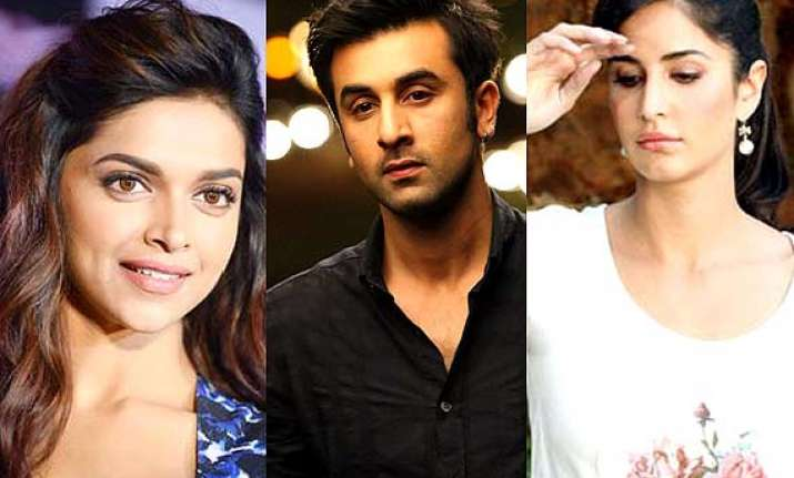 ranbir kapoor to shoot with deepika asks katrina kaif to