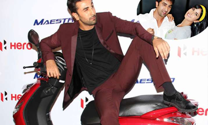 ranbir shifting in with katrina actor refuses to spill the