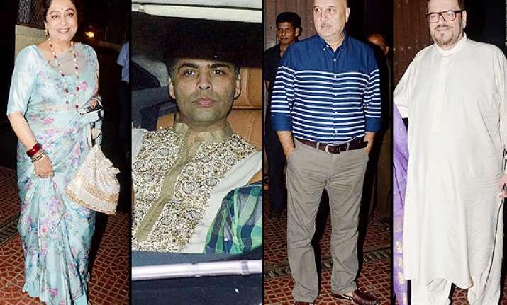 rani aditya wedding private get together happens at yash