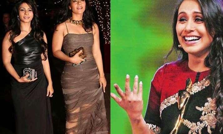 reasons why rani kept out kajol tanisha from her wedding