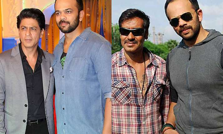 rohit shetty happy working with ajay and shah rukh