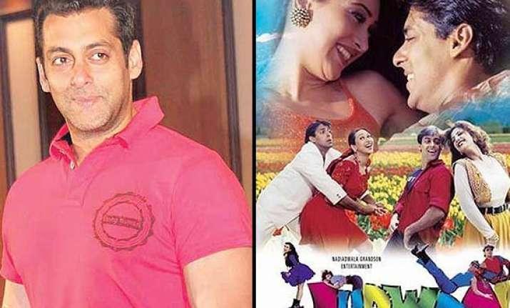 salman khan to recreate judwaa magic plays double role in
