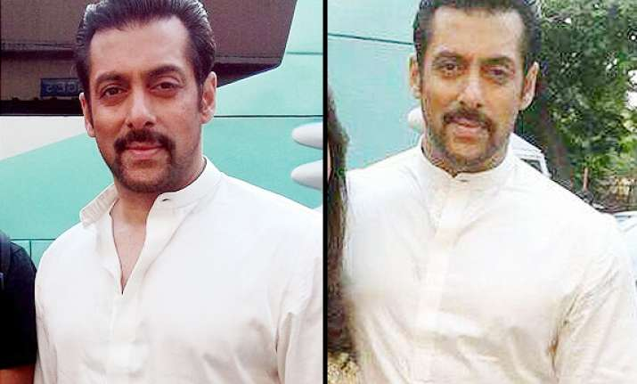 first look salman khan s new calm and composed look in prem