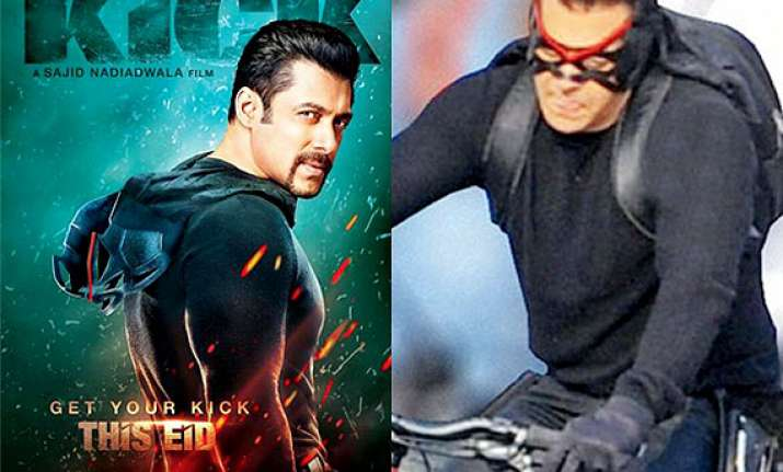 Kick Poster Out Salman Khan Built Mystery No Trace Of Jacqueline